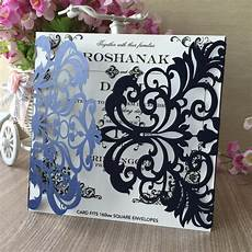 New And Blue Wedding Invitations