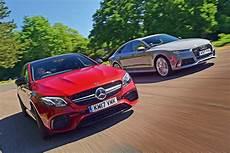 audi vs mercedes mercedes amg e 63 s vs audi rs7 performance auto express