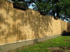 reetplatte 150 cm hoch x 200 cm breit natur pro kastanie