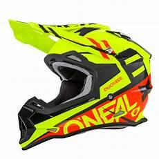 motocross helm o neal o neal 2 series rl spyde motocross enduro mtb helm gelb