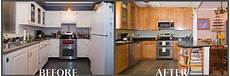 Kitchen Transformations Before And After by Before And After Remodeling Ideas Atlanta Remodeling