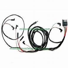 64 Ford Falcon V8 Engine Feed Wiring Harness 1964