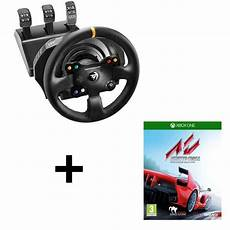 Volant Xbox One Occasion Pack Thrustmaster Volant Tx Racing Wheel Leather Edition