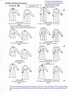 what is a line sheet fashion incubator