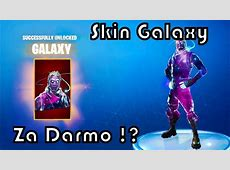 Skin Galaxy do Fortnite za darmo ?!   YouTube