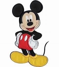 applique iron on disney iron on applique mickey mouse 3 1 4 quot x5 1 2 quot 1 pkg