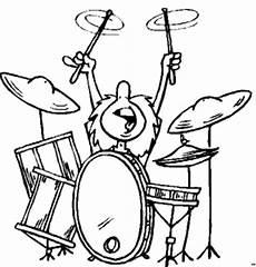 Mandala Malvorlagen Musik Schlagzeuger Ausmalbild Malvorlage Musik