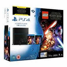ps4 1tb black rev c with lego wars and wars
