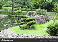 Japanischer Garten Exotischen Pflanzen Bonsai Wroclaw
