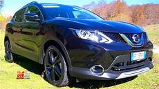 new nissan qashqai black edition 2017 test drive