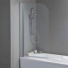 parete vasca da bagno parete vasca 2300s da 70 cm in cristallo 4 mm cromo