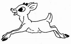 rudolph reindeer coloring pages and print for free