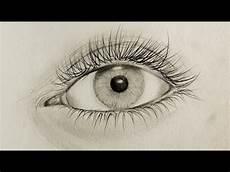 Bilder Zum Nachmalen Augen Auge Zeichnen Tutorial Ein Realistisches Auge Zu