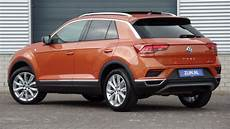 Volkswagen New T Roc Sport 2018 Energetic Orange 17 Inch