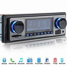 12v bluetooth car radio player stereo fm mp3 usb sd aux