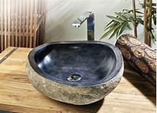vasque en naturelle vasque 224 poser en naturelle ivela 216 40 60 cm h
