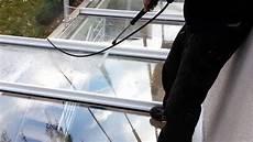 hochdruckreinigung glasdach