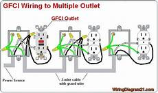multiple gfci outlet wiring diagram ideas for the house in 2019 outlet wiring home