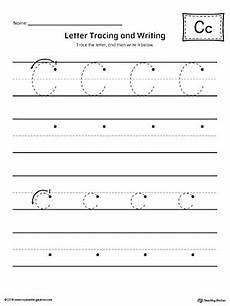 letter c handwriting worksheets 24055 letter c tracing and writing printable worksheet myteachingstation
