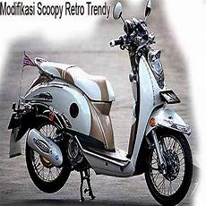 Modifikasi Motor Scoopy Injeksi by 20 Gambar Modifikasi Honda Scoopy Merah Hitam Cosmo