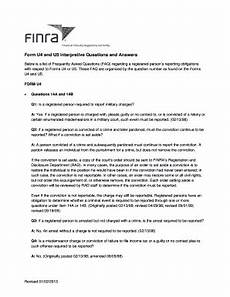 what is a u 4 form finra form u4 interpretive questions fill online printable fillable blank pdffiller