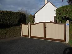 installation d un ensemble portail et portillon aluminium