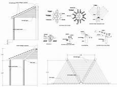 tetto a padiglione dwg tettoia in legno dwg ox37 187 regardsdefemmes