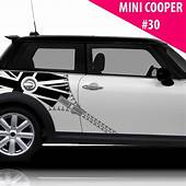 Fits Mini Cooper Side Racing Stripes Car Graphics Union