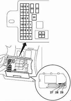 mitsubishi l200 2005 2015 fuse box diagram auto genius