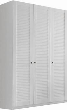 Kleiderschrank Mit Lamellentüren - gro 223 er schrank mit lamellent 252 ren aus eichenholz gekalkter