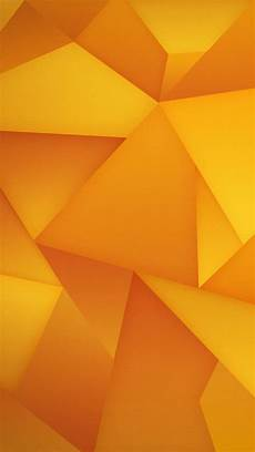 Orange Wallpaper Geometric
