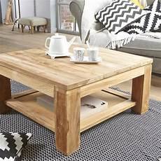 table basse bois massif brut table basse carr 233 e en teck brut qualite grade a achat