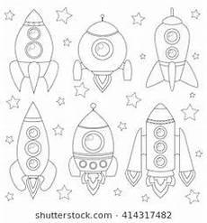 malvorlage rakete weltraum ausmalbilder kostenlose