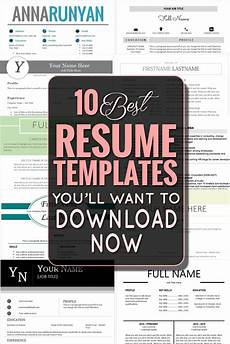 the 10 best resume templates you ll want to download