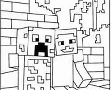Malvorlagen Minecraft Id Minecraft Coloring On
