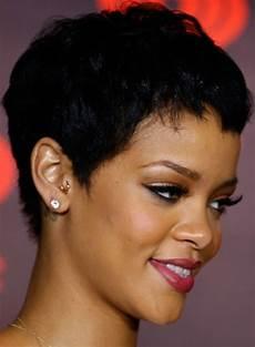 Rihanna Boy Cut Hairstyles