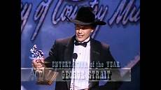 of the year george strait wins entertainer of the year acm awards