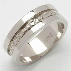 sterling silver mens heavy weight claddagh wedding ring ebay