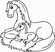Malvorlage Pferd Einfach Get This Easy Horses Coloring Pages For Preschoolers Xon4i