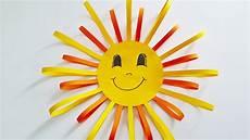 Basteln Mit Kindern Sommer Fenster - basteln fensterbild quot sonne quot diy deko selber machen