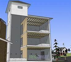 Desain Gedung Walet Rbw 4x7 Paket Hemat