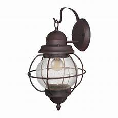 vintage exterior seeded glass wall lantern outdoor light