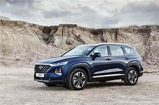 2019 hyundai santa fe crossover all new 2019 hyundai santa fe matures gets diesel engine