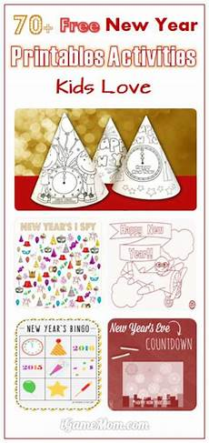 new year worksheets printable free 19413 1801 best images about activities for on printables