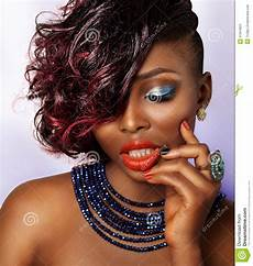 african american fashion beauty girl stock image image
