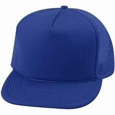 jual topi trucker biru polos a di lapak terjual