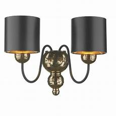 traditional bronze double wall light black fabric shades double insulated