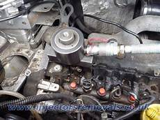 injector removal from renault trafic opel vivaro with 1