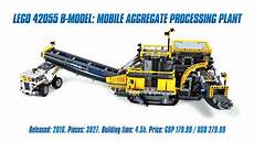 Lego Technic Build by Lego Technic 42055 B Model Mobile Aggregate Processing