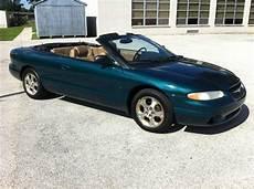 auto body repair training 1999 chrysler sebring user handbook purchase used 1999 chrysler sebring jxi convertible 2 door 2 5l in broomall pennsylvania